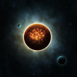 Sun with Planets Stock Photography