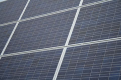 Sun Power. Energy from the sun: solar panel stock photography