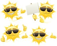 Sun Presenting Stock Photography