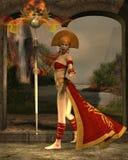 Sun Priestess Stock Photography