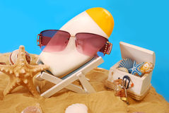 Sun protection Royalty Free Stock Photo