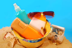 Sun protection Stock Photos