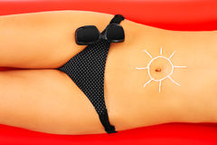 Sun protection Royalty Free Stock Photography
