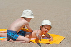Sun protection Stock Image