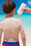 Sun protection Stock Photo