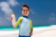 Sun protection Stock Photography