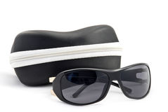 Sun-protection glasses Royalty Free Stock Photos