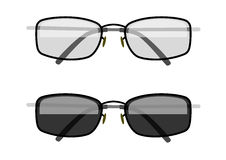 Sun-protection glasses royalty free stock images