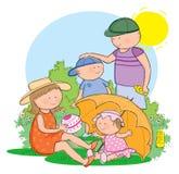 Sun Protection Royalty Free Stock Photos