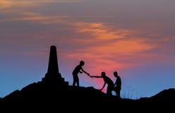 Sun, puesta del sol, mar, lago, songkhla, tailandés Imágenes de archivo libres de regalías
