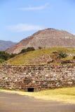 Sun pyramid III, teotihuacan Stock Image