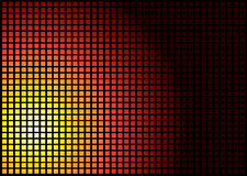 Sun-Quadrat Stockfoto