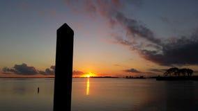 Sun que explode com cor Foto de Stock