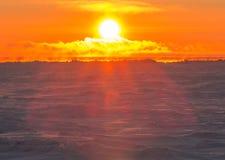 The Sun que lleva un vestido Imágenes de archivo libres de regalías