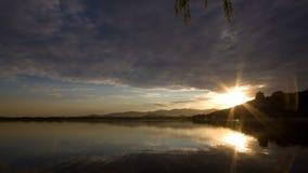 ¡The Sun que sube otra vez y que brilla! Foto de archivo