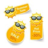 Sun-Rabatt Lizenzfreie Stockbilder