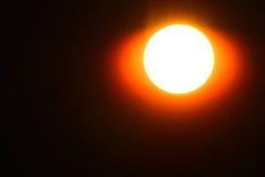 Sun with radiation closeup Stock Photography