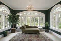 Sun-Raum im Luxuxhaus Lizenzfreie Stockfotos