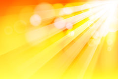 Sun ray Stock Photo