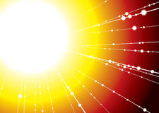 Sun ray Royalty Free Stock Image