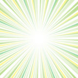 Sun ray Abstract design Stock Photography