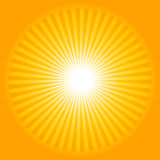 Sun ray background Stock Images