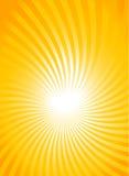 Sun ray background Stock Photos