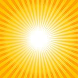 Sun ray background Stock Image