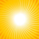 Sun ray background Royalty Free Stock Photo