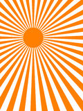 Sun Ray Background (vector) Royalty Free Stock Photo