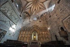 Sun Ray dans l'église image stock