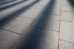 Sun ray on the ground, may use as background Stock Images