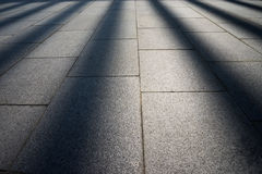 Sun ray on the ground, may use as background Royalty Free Stock Photo