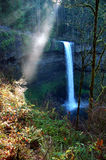 Sun Ray at Silver Falls Stock Photography