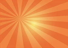 Sun rayonne l'illustration Image stock