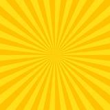 Sun rayonne le fond Photo libre de droits