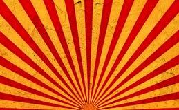 Sun rayonne le fond grunge Photo libre de droits