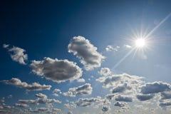 Sun rays Royalty Free Stock Photography