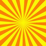 Sun rays Abbildung Lizenzfreies Stockbild