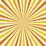 Sun rays. Abstract background. Vintage style. Orange and yellow sun rays Vector Illustration