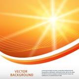 Sun rays background Stock Photography