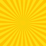 Sun rays background. Vector illustration in flat style Royalty Free Stock Photo