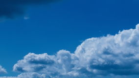 Sun Rays Blue Clouds stock video footage