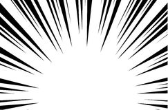 Sun Rays for Comic Books Radial Background Vector Stock Image