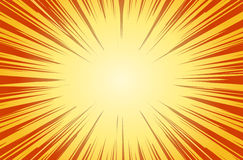 Sun Rays for Comic Books Radial Background Vector. EPS 10 Stock Photos