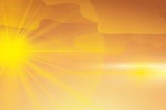 Sun rays design. Royalty Free Stock Photography