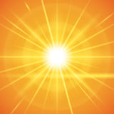 Sun rays design. Royalty Free Stock Images