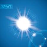 Sun rays design. Stock Photo