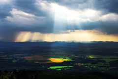Sun rays Royalty Free Stock Image