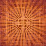 Sun with rays on grunge cloth texture. Vector Royalty Free Stock Image